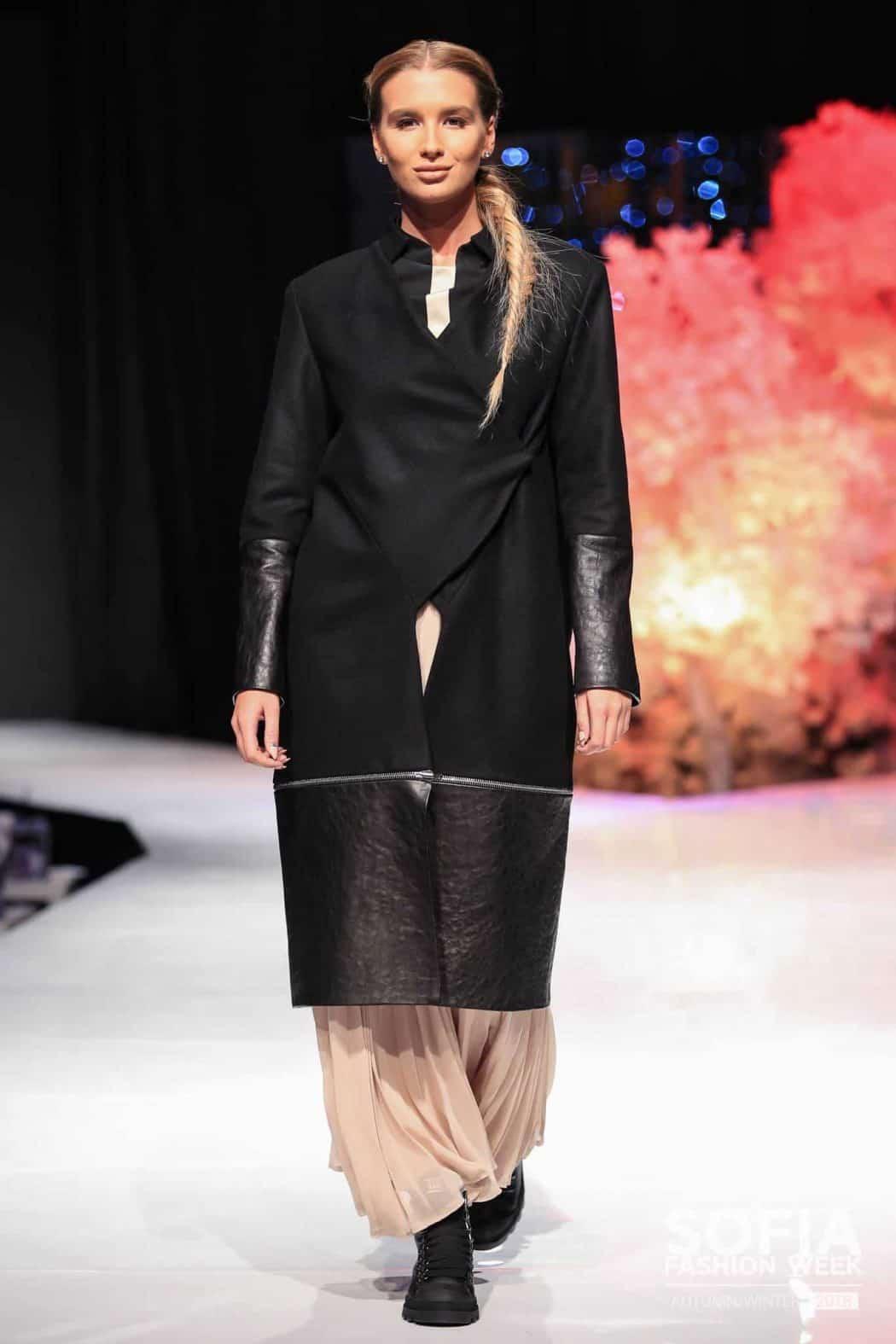 Дълго дамско палто CINZIA