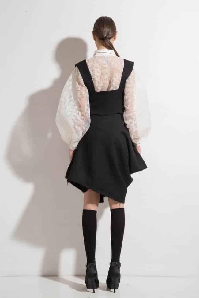 Elegant woolen set CRISTIN