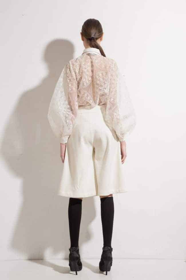Wide womens' trousers MADLEN