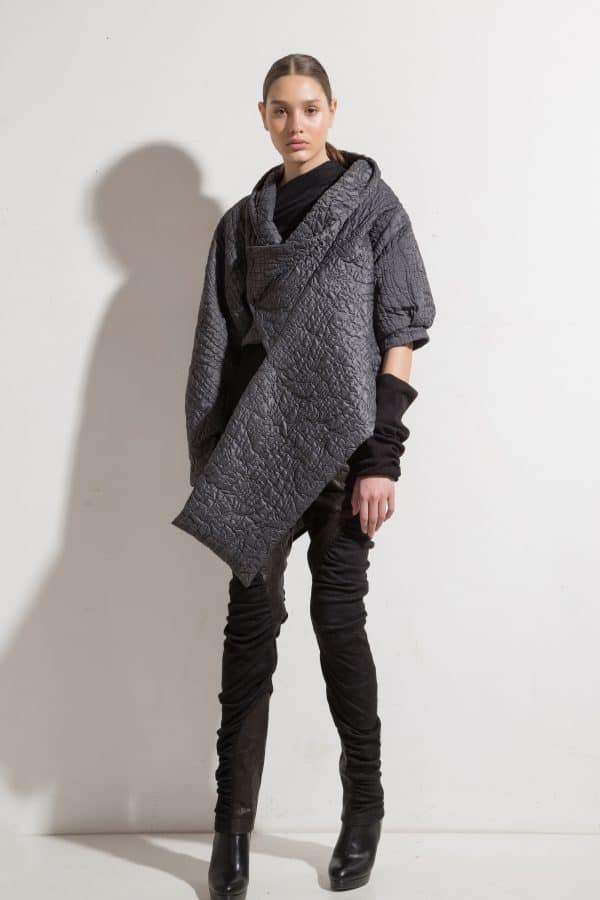 Asymmetric jacket DAYAN