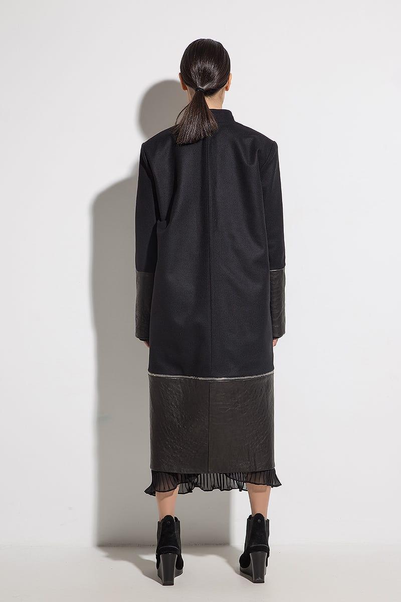 Women long coat CINZIA