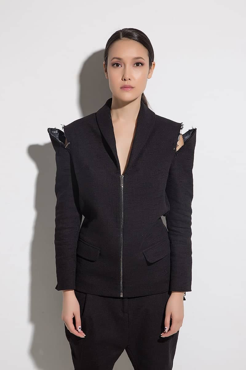 Extravagant ladies jacket ZETA NERA