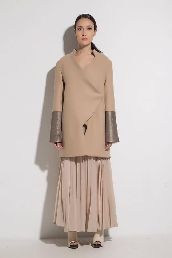Women long coat Caprina