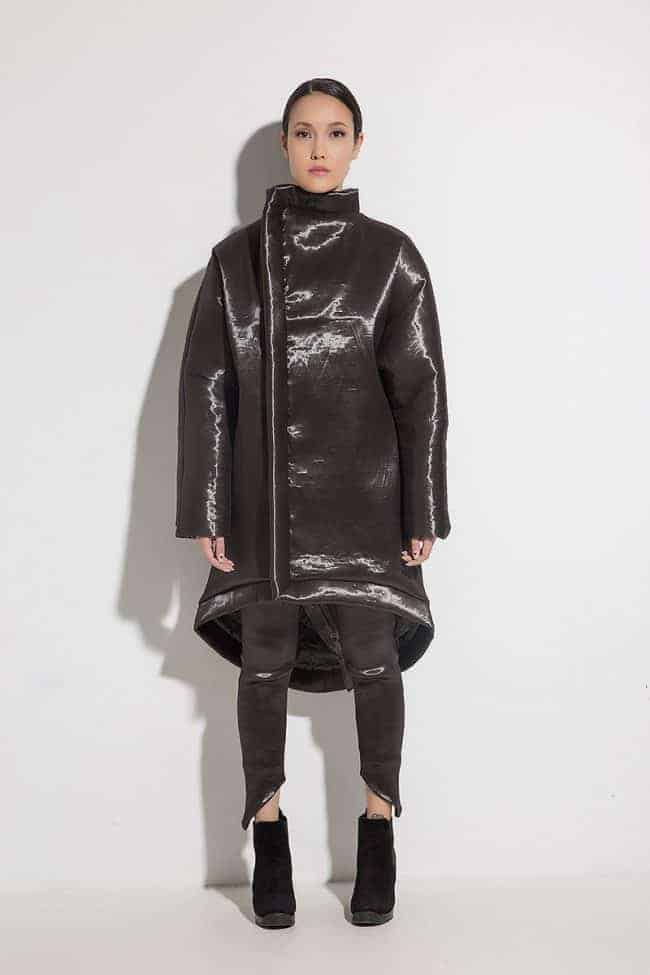 Extravagant ladies coat ARABELLA