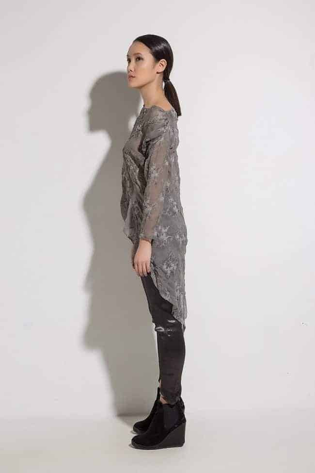 Асиметрична дамска блуза FIORENA