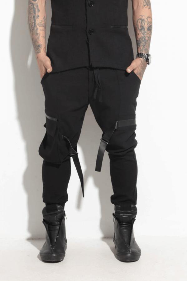 Спортно-елегантен мъжки панталон UGO