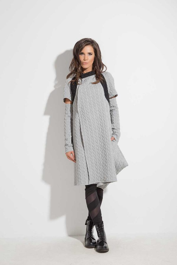 Asymmetrical women's vest YANTA