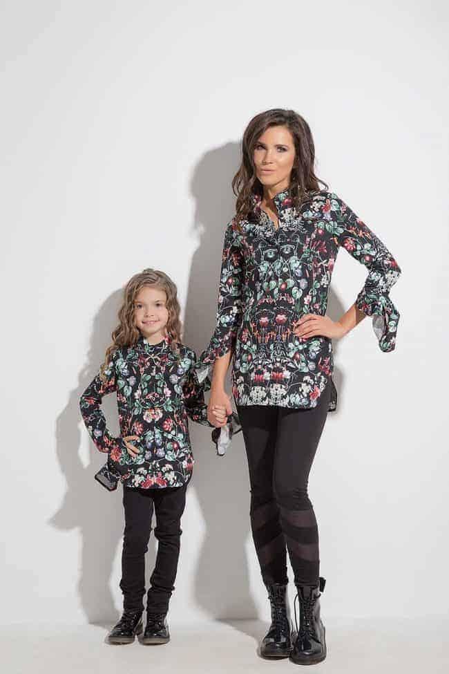 Дамска риза с интересни ръкави ERIDA