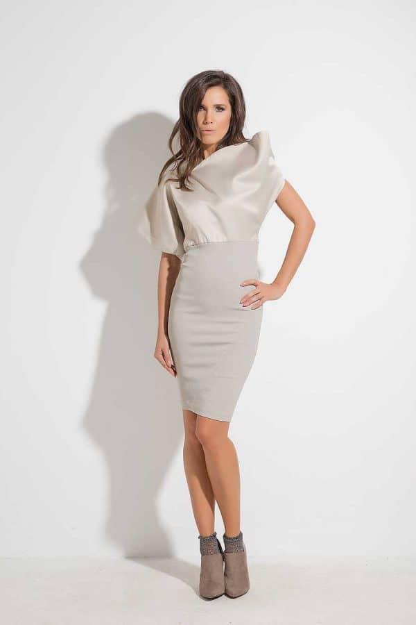 Къса дамска рокля SIANA