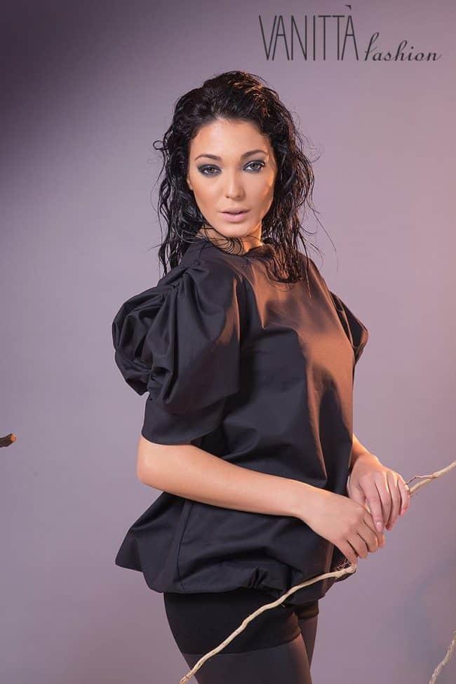 Ежедневна дамска блуза BLACK ROSE