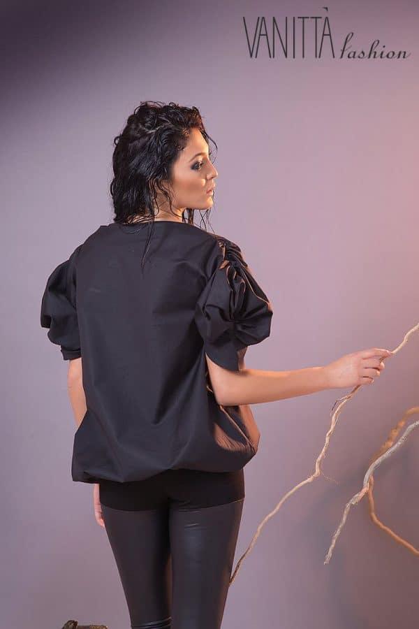 Casual ladies blouse BLACK ROSE