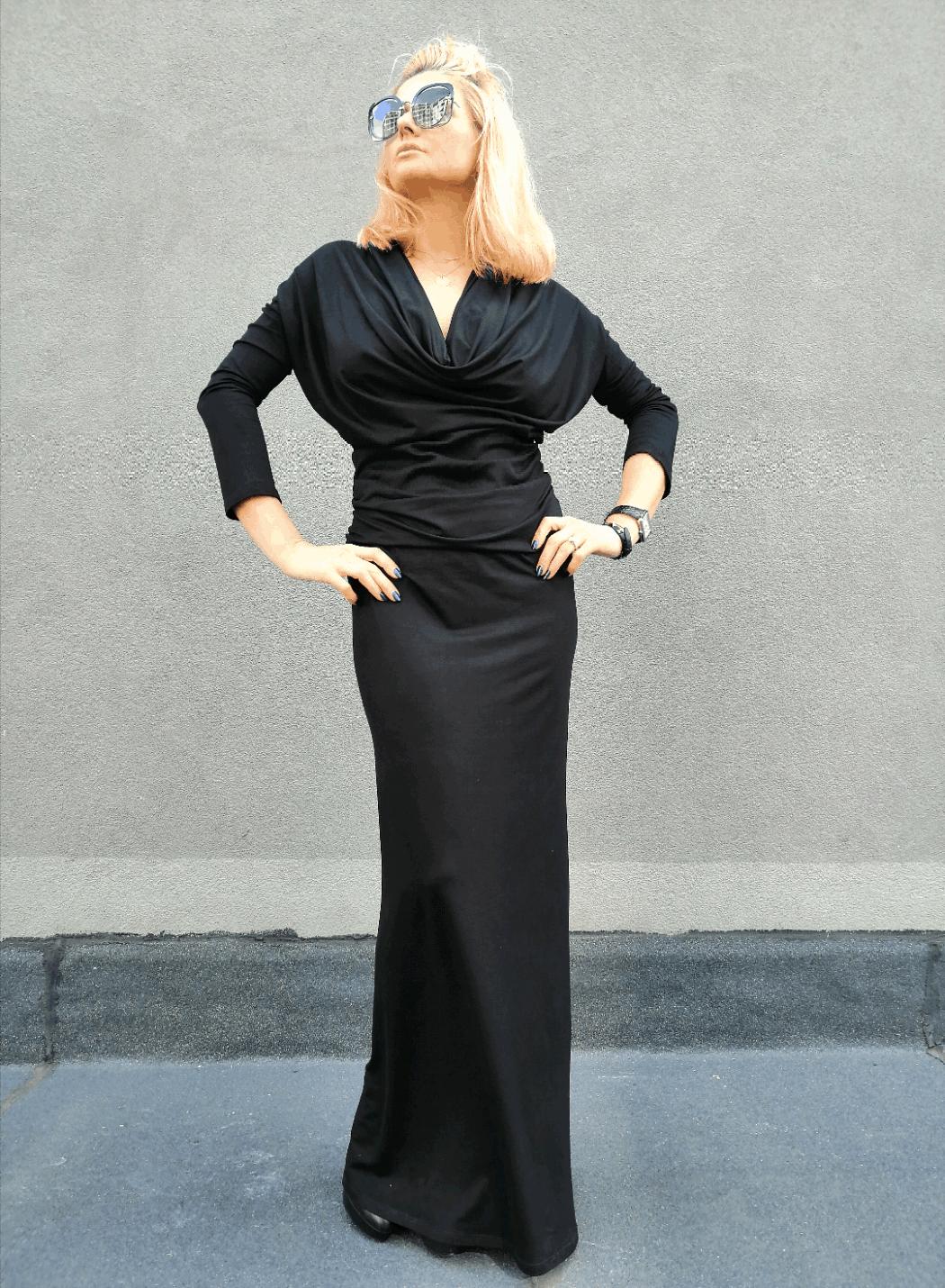 Дълга дамска рокля PEISLY