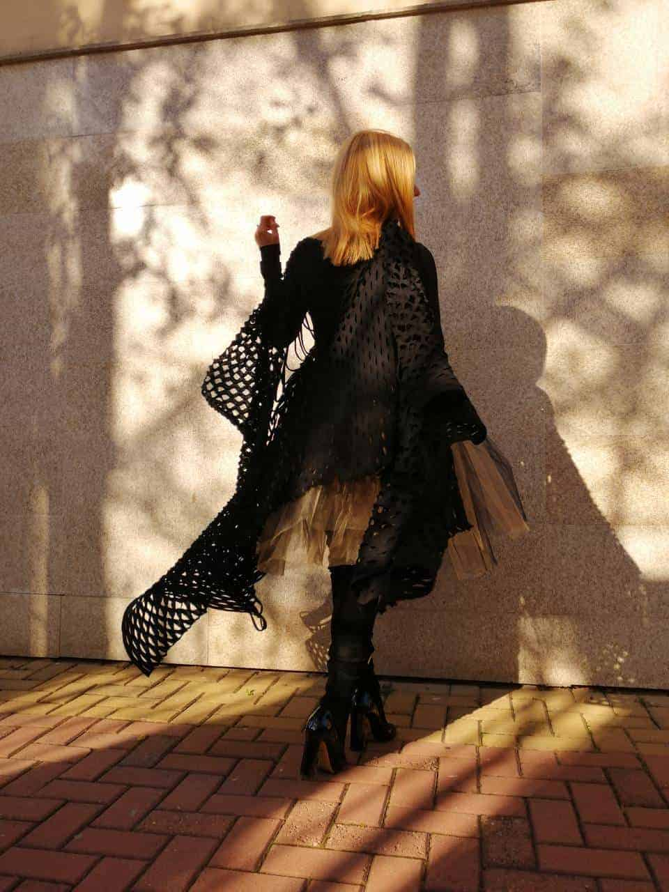 Women scarf SHADOW