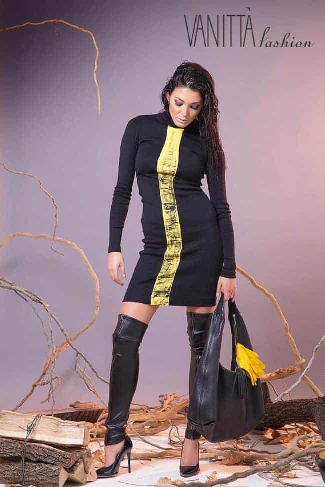 Спортно-елегантна рокля ILONA