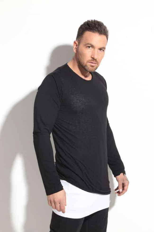 Men's blouse from two parts XICS
