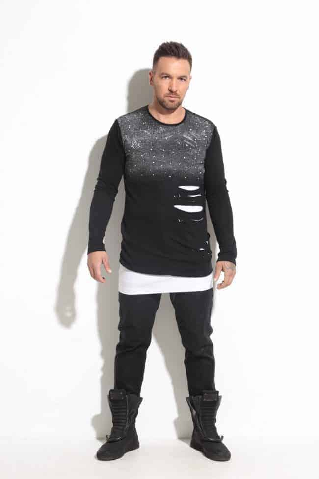 Men's blouse in two parts MISTIC
