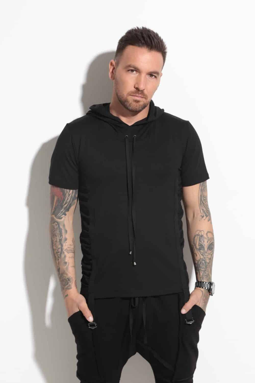 Спортно-елегантна мъжка тениска DAVID