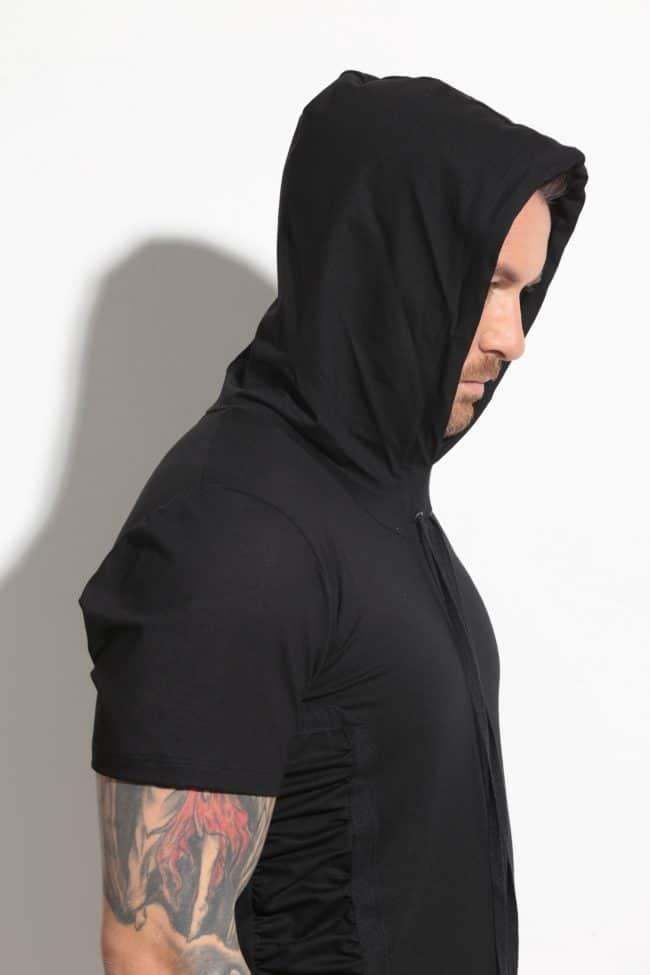 Sporty-elegant men's t-shirt DAVID