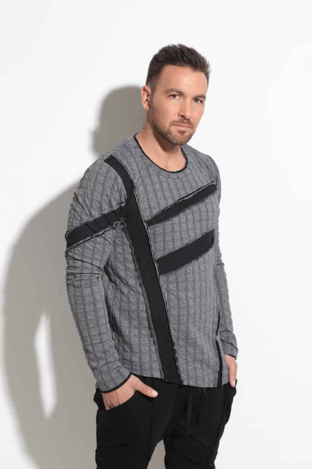 Men's blouse SQUARE