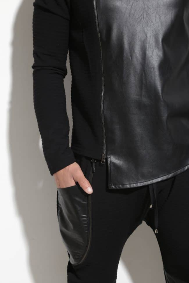 Спортно-елегантен мъжки панталон PORTO