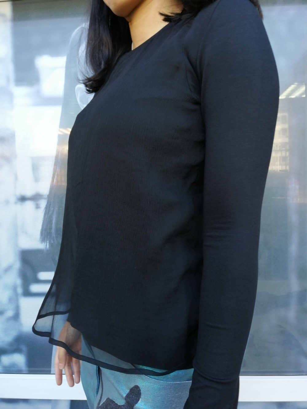 Stilysh ladies blouse SHIFFA