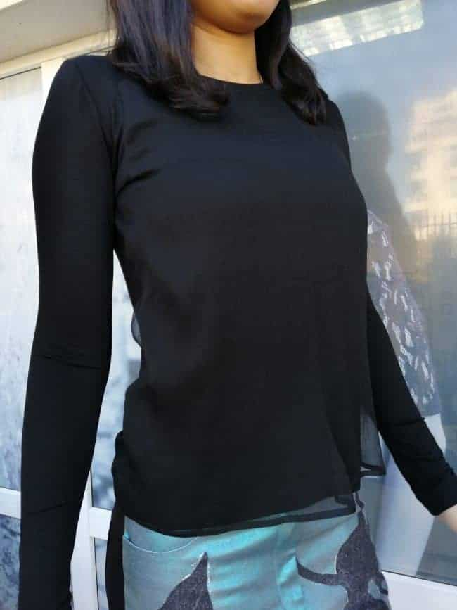 Стилна дамска блуза SHIFFA