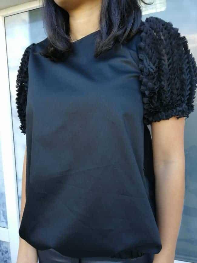 Широка дамска блуза ALINA