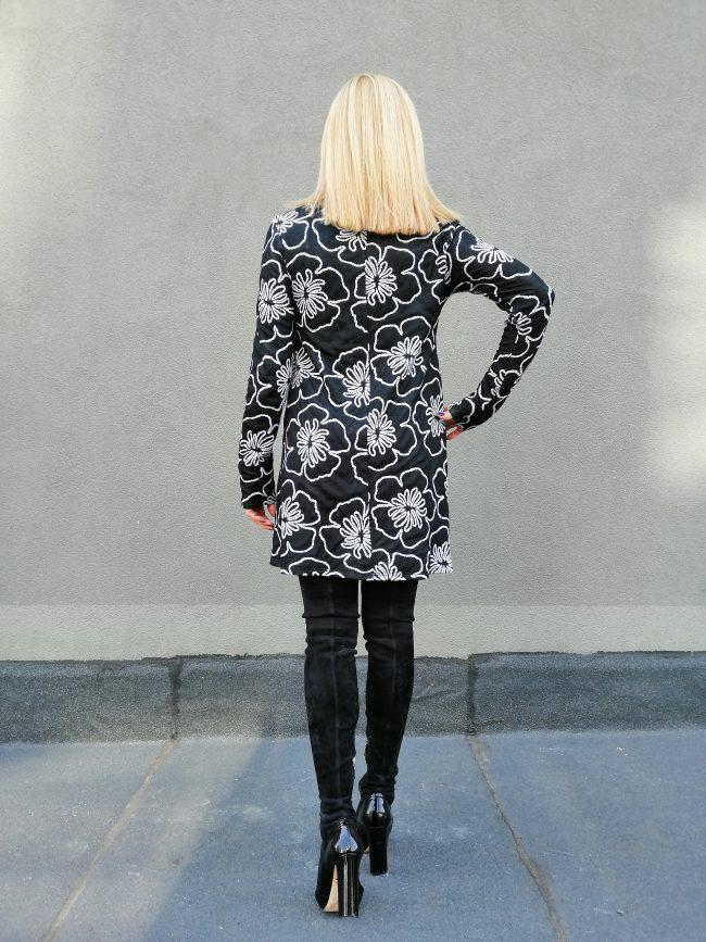 Свободна дамска рокля FIORE