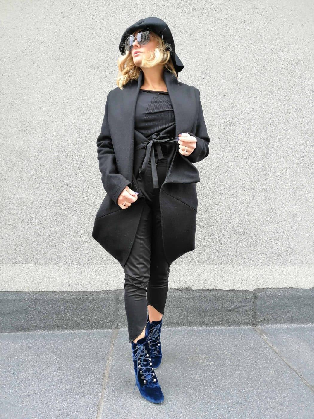 Cashmere coat ladies SKATA