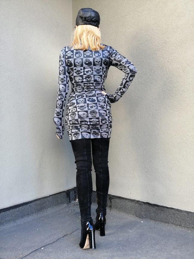 Къса дамска рокля LITTLEWIN
