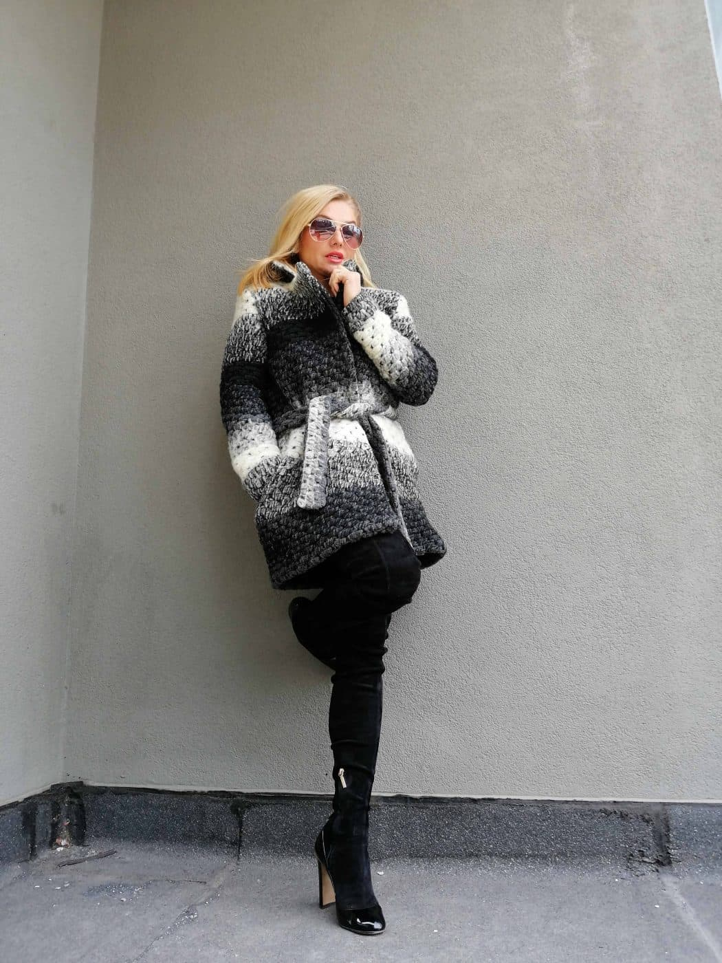 Soft woolen coat SHANA