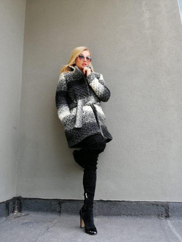 Меко вълнено палто SHANA