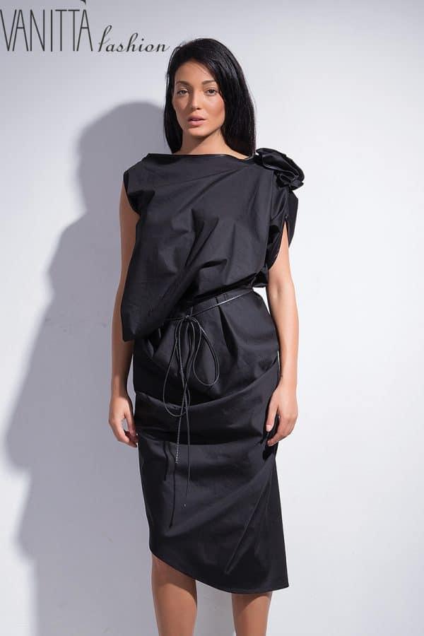Асиметрична дамска рокля FANTASY