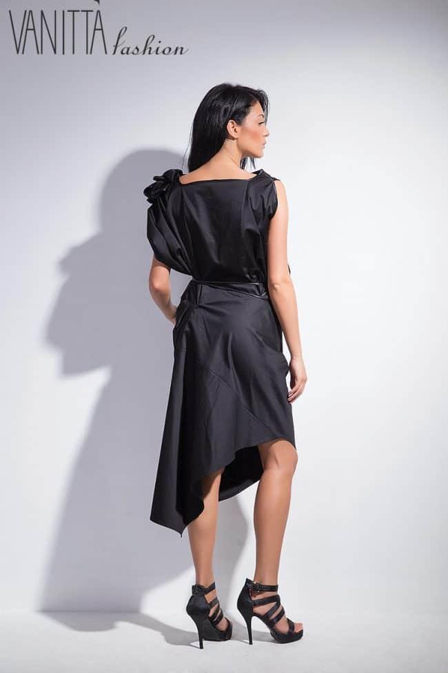 Asymmetrical women's dress FANTASY