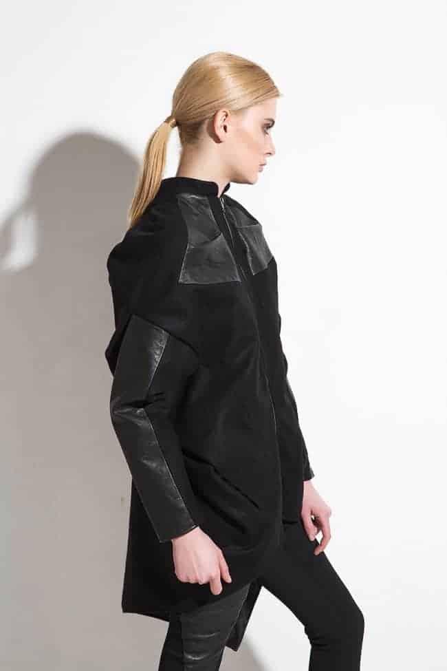 Екстравагантно дамско палто