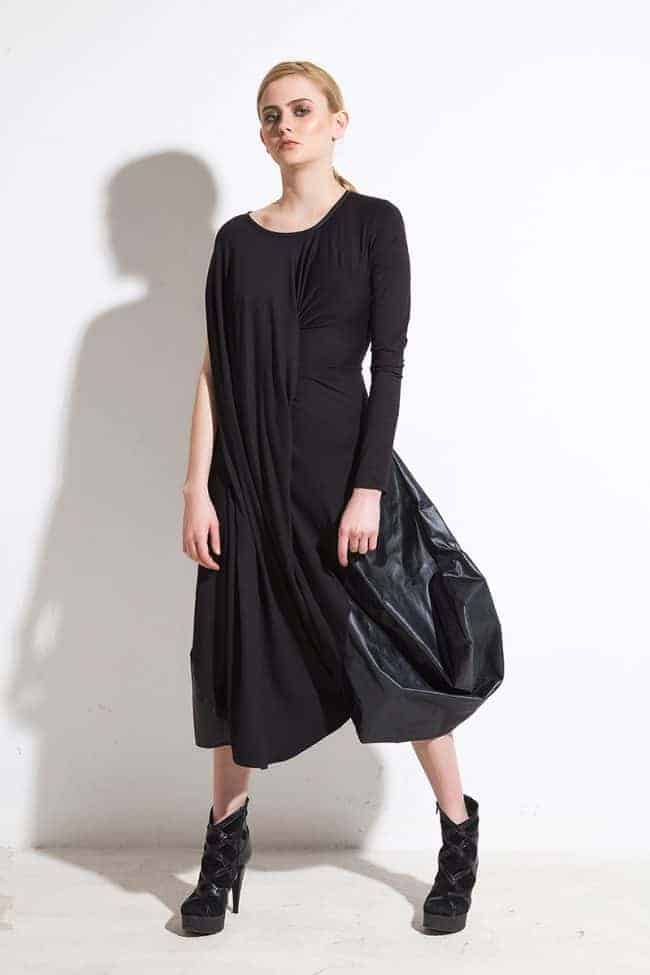 Asymmetrical dress ZEFIR