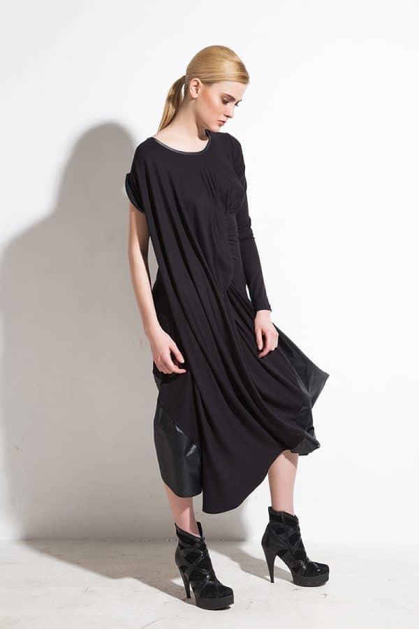 Асиметрична рокля ZEFIR