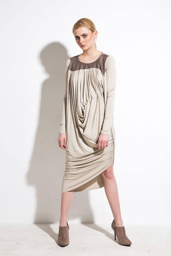 Asymmetrical women's dress Semira