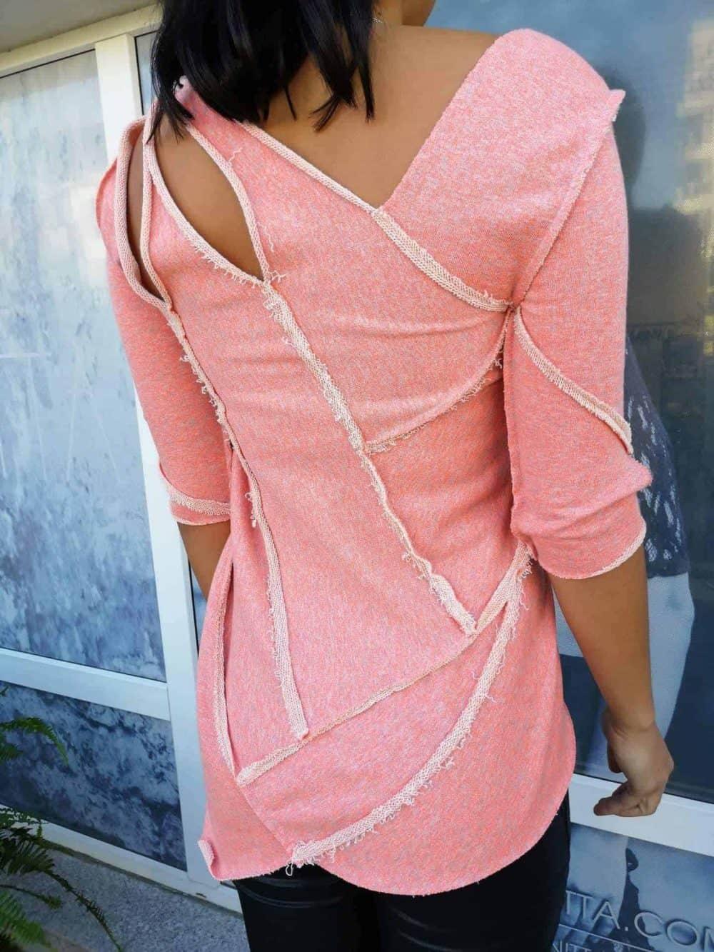 Asymmetrical women's tunic KONZA