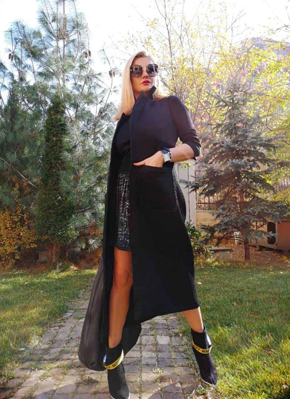 Дълъг дамски елек TAIRA