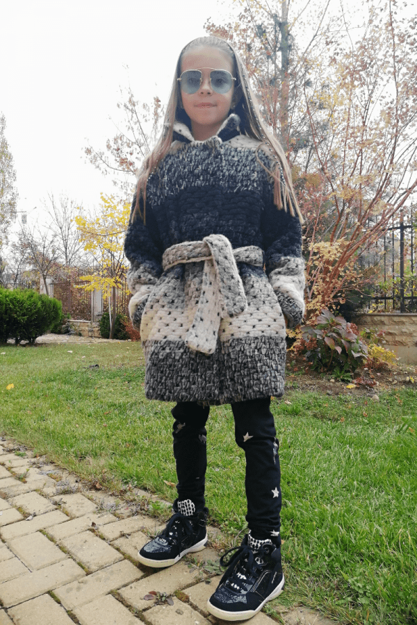 Children wool coat SHANA