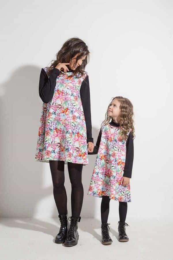 Разкроена детска рокля HERA
