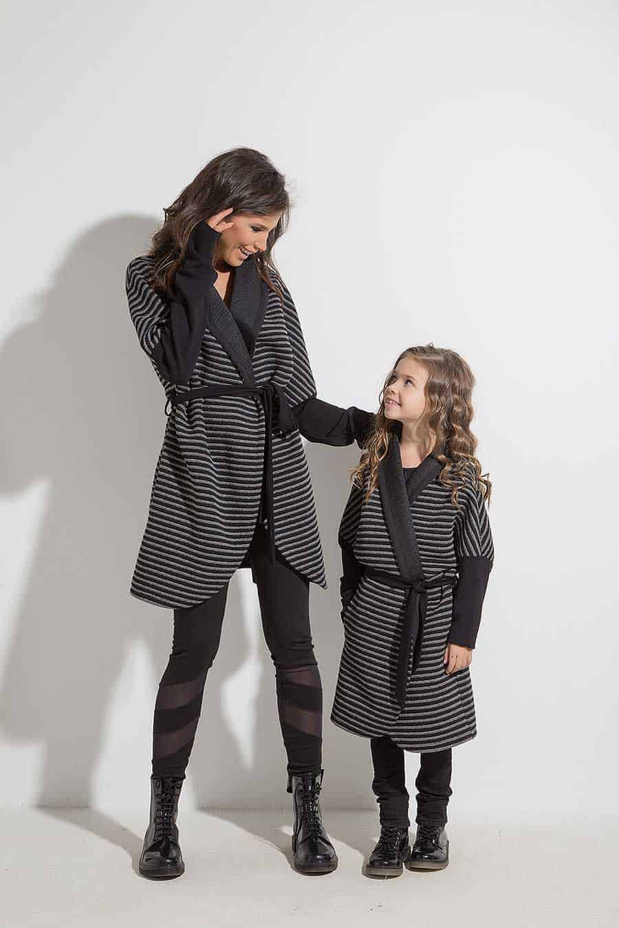 Long children's vest IRIDA