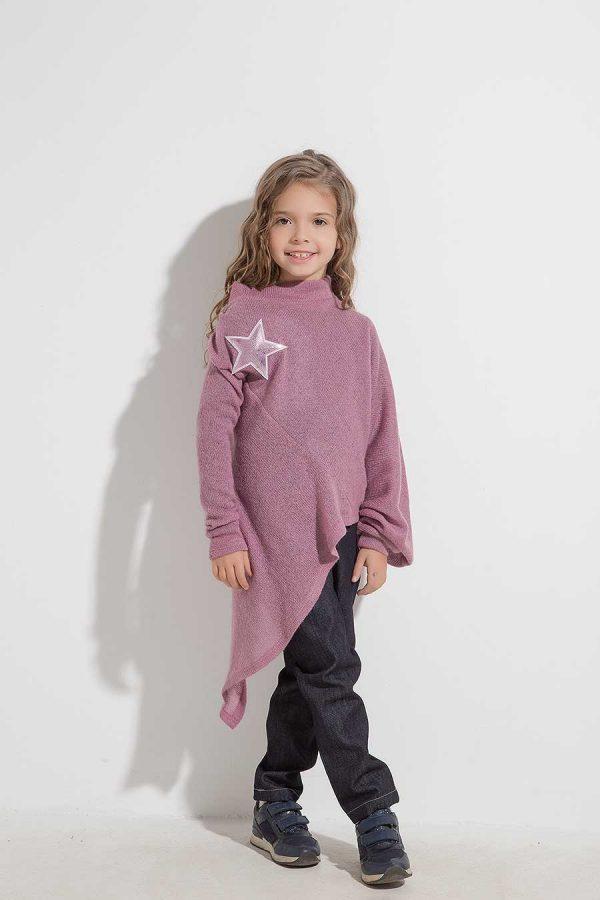 Интересна асиметрична блуза ALETA