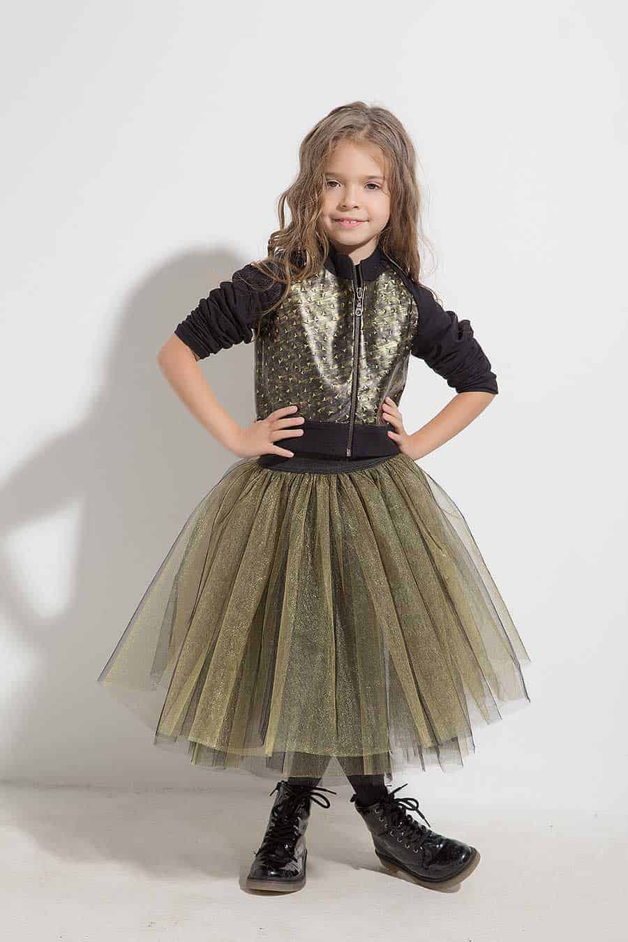 Short girl jacket KIARA