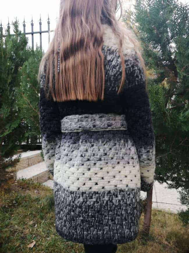 Детско вълнено палто SHANA