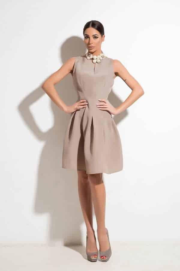 Елегантна дамска рокля SELENA