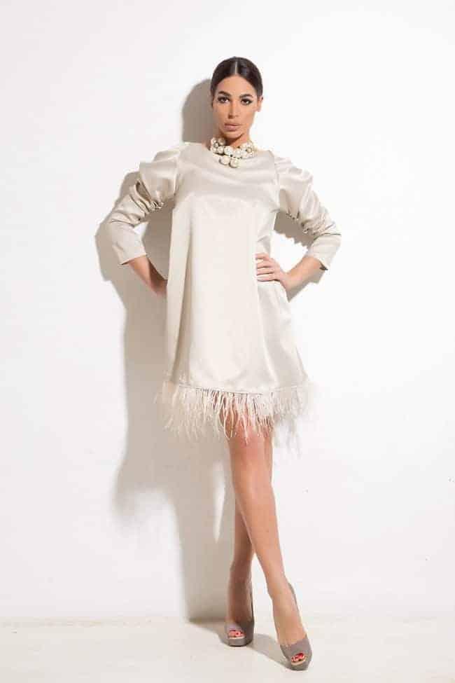 Свободна дамска рокля FRENCHY