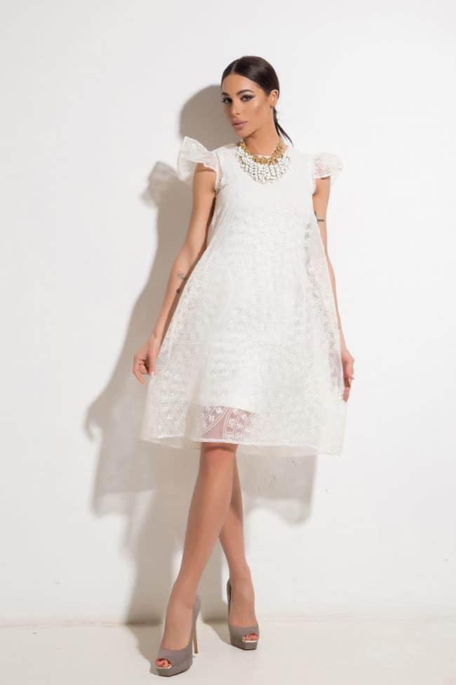 Стилна дамска рокля PANDORA