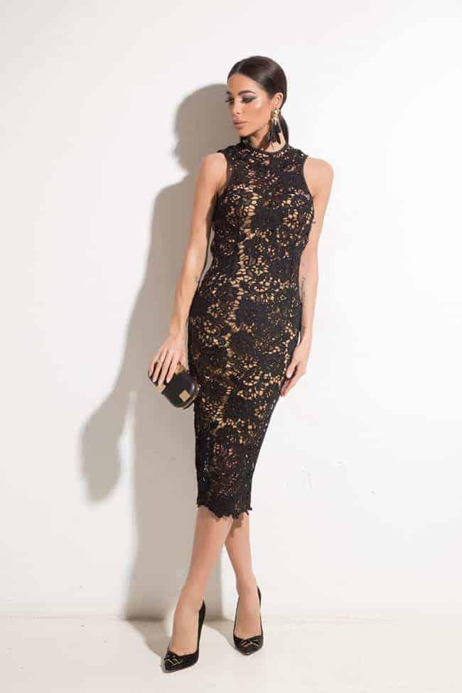 Elegant lady dress LINA